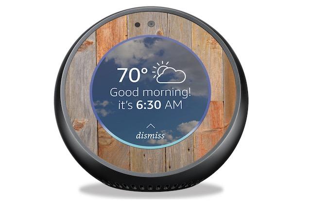 7. MightySkins for Amazon Echo Spot