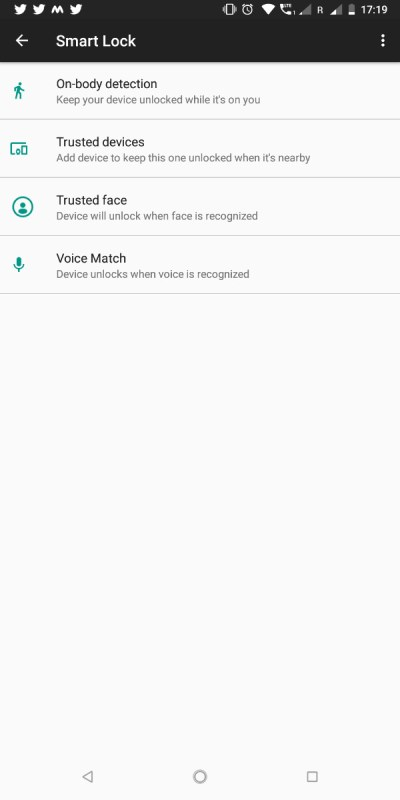 Google Smart Lock Trusted Places Nokia 7 Plus