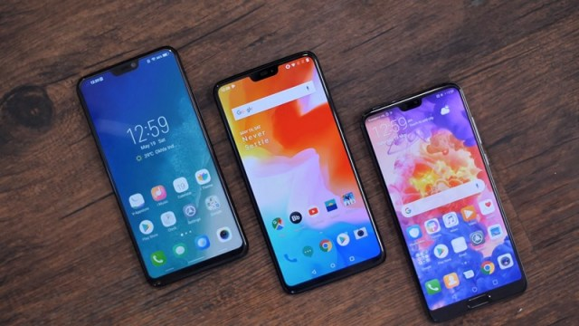 OnePlus 6 Notch Phones