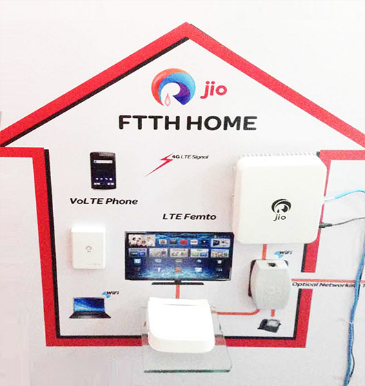 Jio to Offer 100Mbps JioFiber Broadband With JioTV and VoIP Calling Under Rs. 1,000