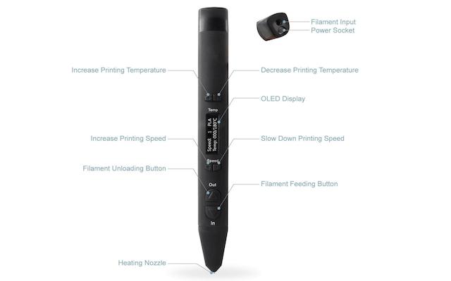 1. AIO Robotics Full-Metal Premium 3D Printing Pen