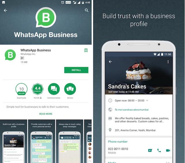 14. WhatsApp Business Profiles