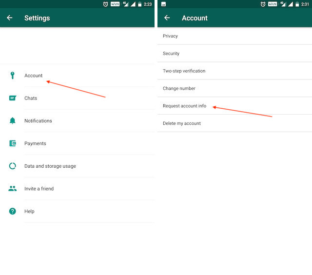 6. View and Export Your WhatsApp Data 1 1