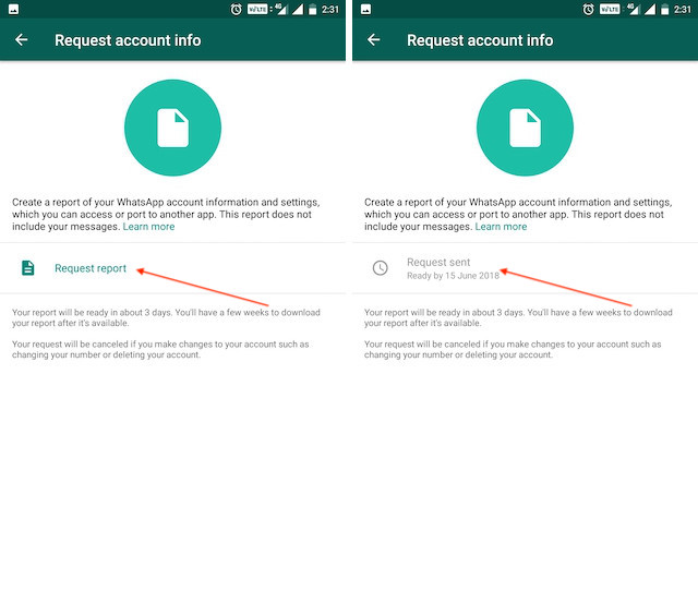6. View and Export Your WhatsApp Data 2