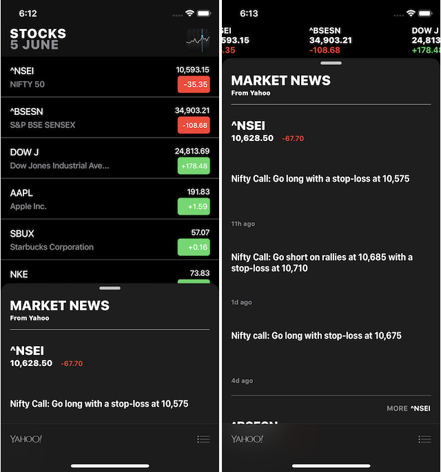 7. Stock App Updates and New Apps 5 apple news and stock