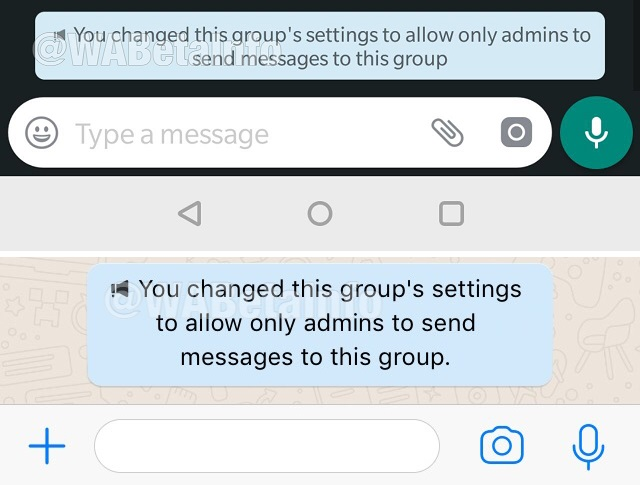 Send Messages setting on Android