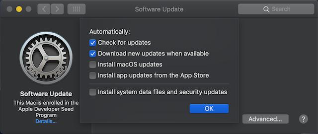Cómo buscar actualizaciones de software en macOS Mojave 4