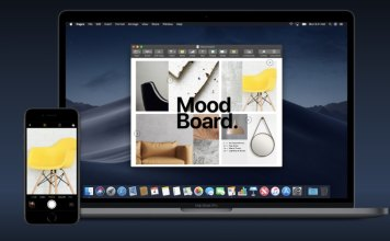 Use Continuity Camera on macOS Mojave