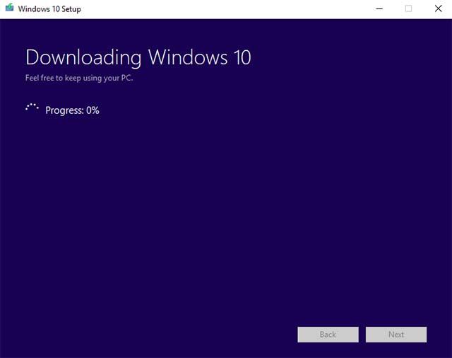 Medios de instalación de Windows 10 6