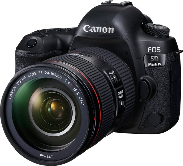 Canon 5D Mark IV 4K shooting cameras