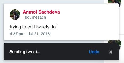 edit tweets extension