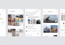 google redesigned UI all apps featured