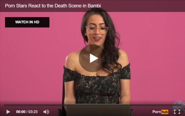 Pornhub SFW Video example