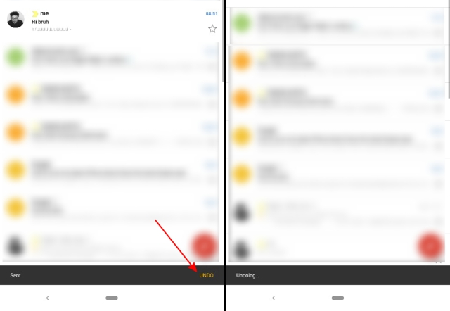 gmail undo android