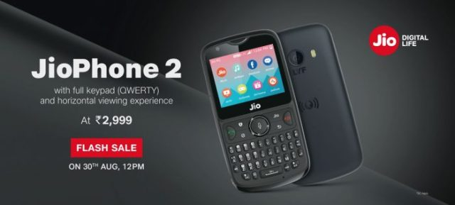 jiophone 2 flash sale 2