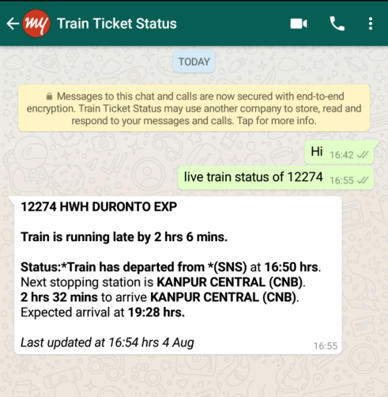 Irctc online chat