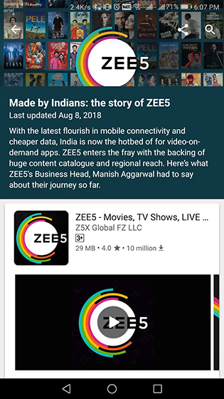 """Google Play Store Showcases Apps """"Made by Indians"""" Ahead of Independence Day"""
