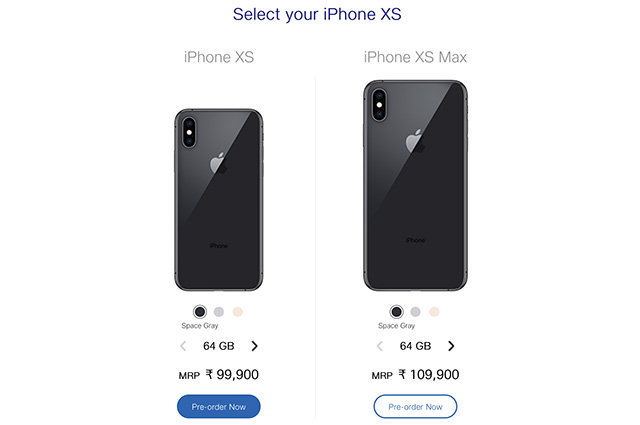iPhone XS and XS Max Start Shipping In India: Where To Buy ...