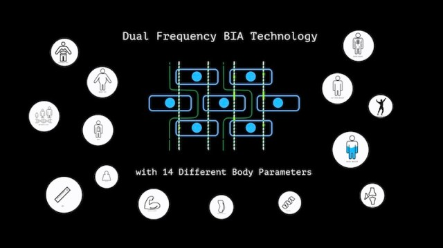 ActoFit SmartScale dual frequency bia