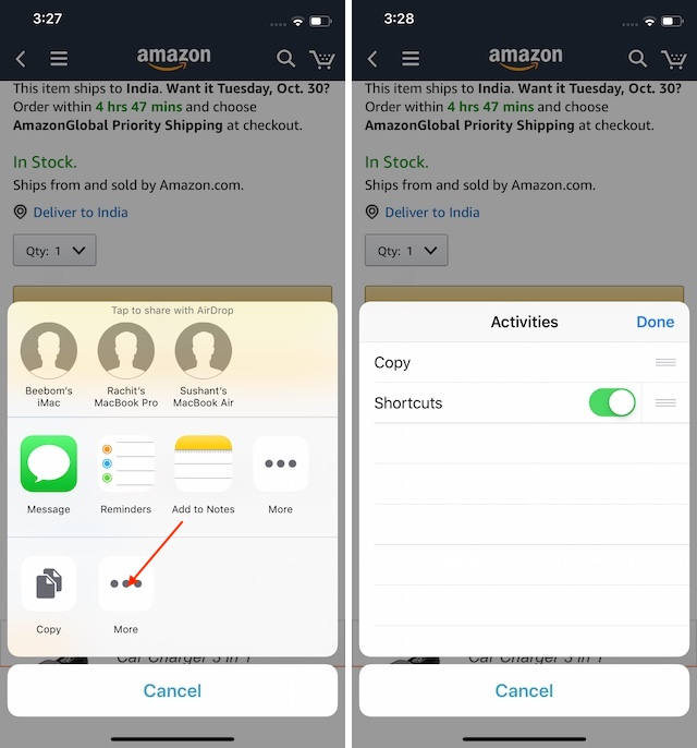 Amazon Price History Shortcuts Step 100003