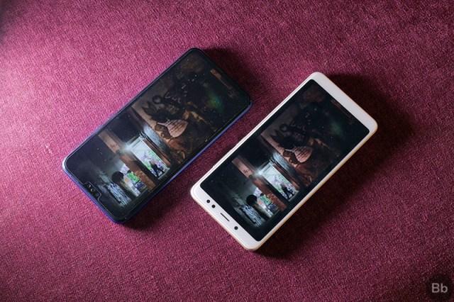 Honor 8X vs Redmi Note 5 Pro