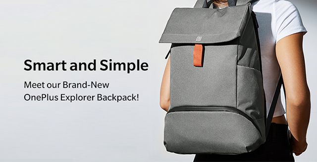 OnePlus Explorer backpack