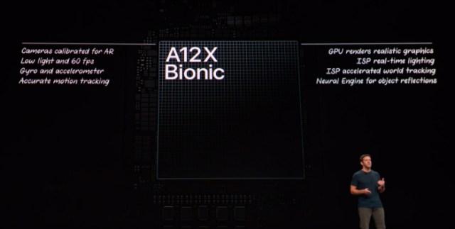 ipad pro a12x bionic