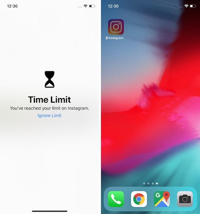Limiting Instagram on ios 4