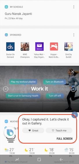 Bixby Screenshot