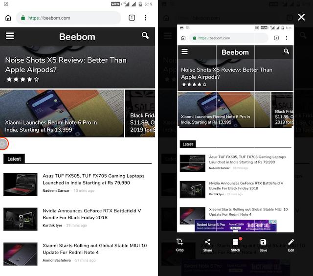 Screenshot mit Apps von Drittanbietern 2
