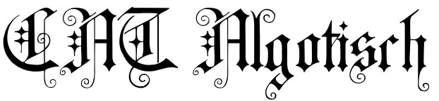 Cat algotisch font