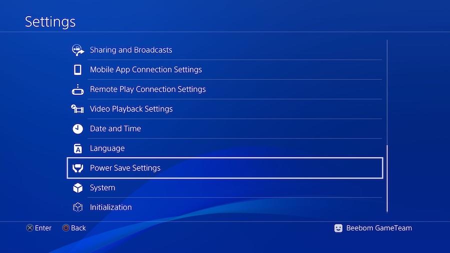 Configuración de PS4 para PS4 Remote Play00008