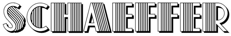 schaeffer font