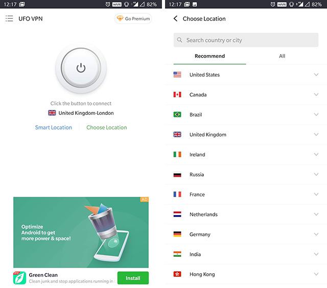 НЛО vpn приложение интерфейс изображения