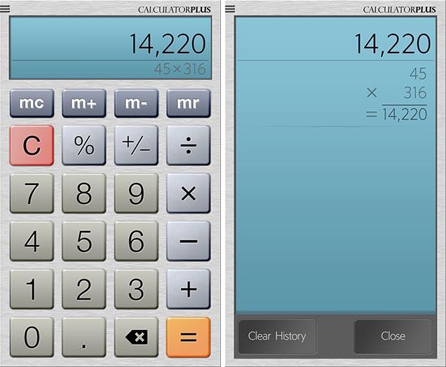Калькулятор Плюс