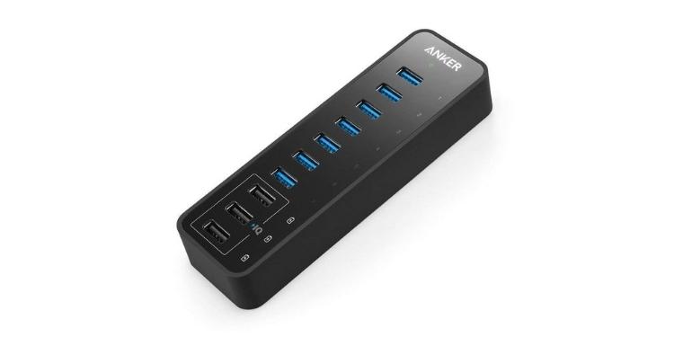 Anker 10-портовый USB-концентратор