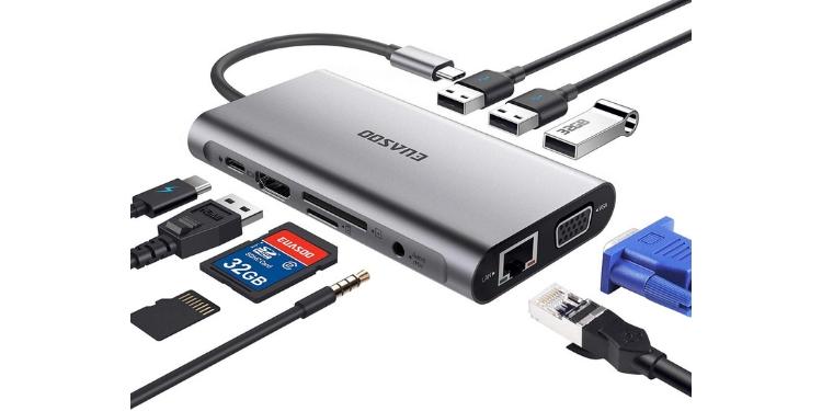 EAUSOO USB C Hub