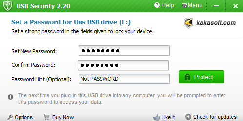Шифрование USB-накопителей