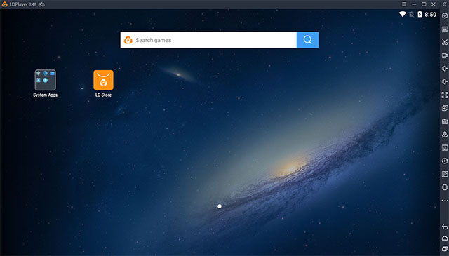 Скриншот ldplayer