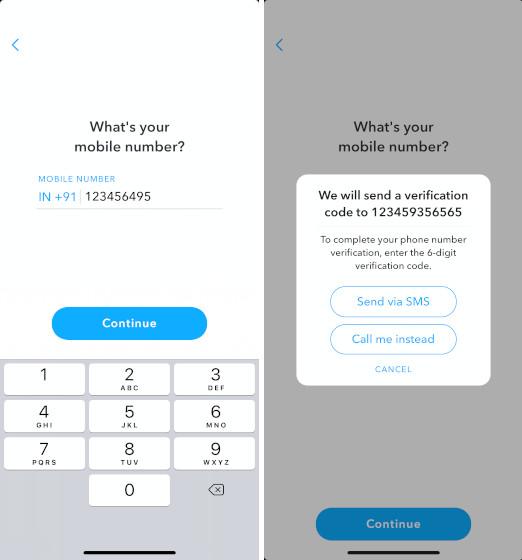 4. Cómo recuperar la cuenta de Snapchat si ha perdido su contraseña