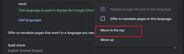 Изменить язык в Google Chrome (Windows, Linux и Chrome OS) 7