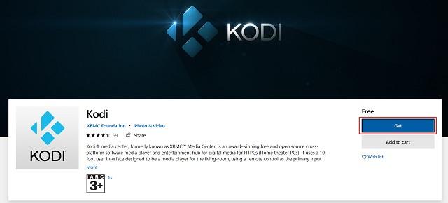 Instalar Kodi en Xbox One
