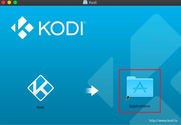 Instalar Kodi en macOS 2