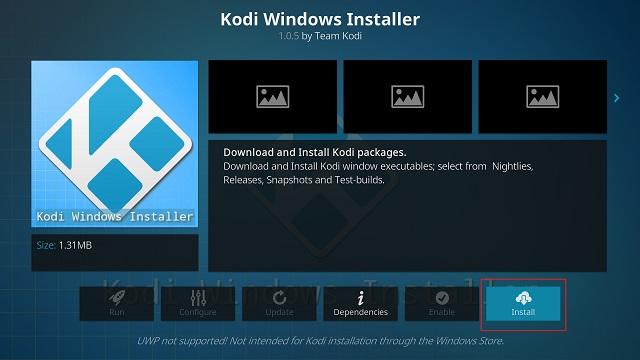 Обновление Kodi с помощью автономного дополнения (5)