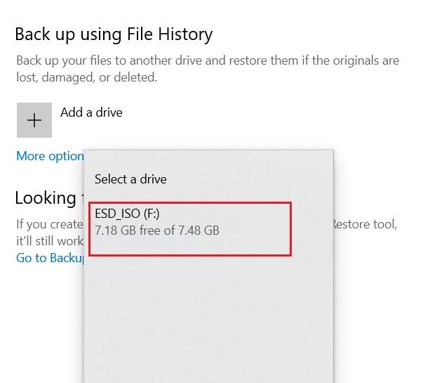 Hacer una copia de seguridad de los archivos importantes mediante el historial de archivos 3