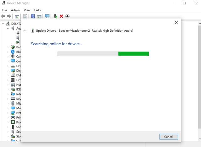 Fix Realtek HD Audio Manager отсутствует ошибка 5
