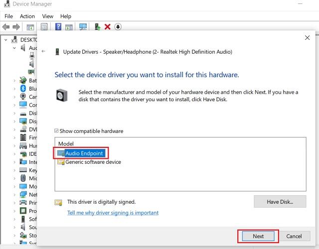 Обновите Realtek HD Audio Driver вручную 4