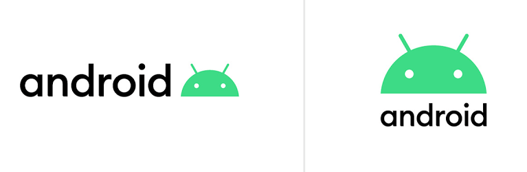 новый логотип Android