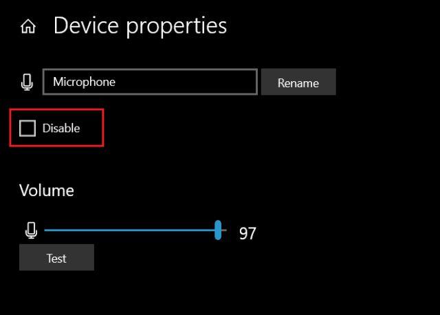 1. Управление микрофоном из настроек Windows (6) Исправление проблем с микрофоном в Windows 10