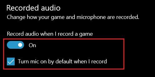 3. Отрегулируйте настройки игровой панели (2). Устраните проблемы с микрофоном в Windows 10.